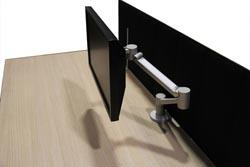 Pannelli separatori per tavoli ufficio