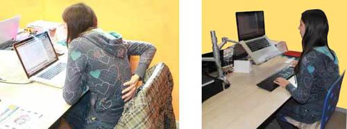 Ergonomia e postura corretta in ufficio